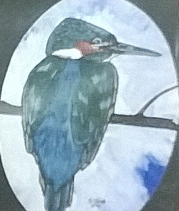 Kingfisher - paintings 4 u