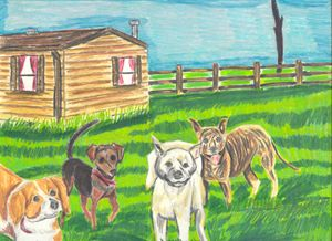Canine Patrol - Margie Shields McKee