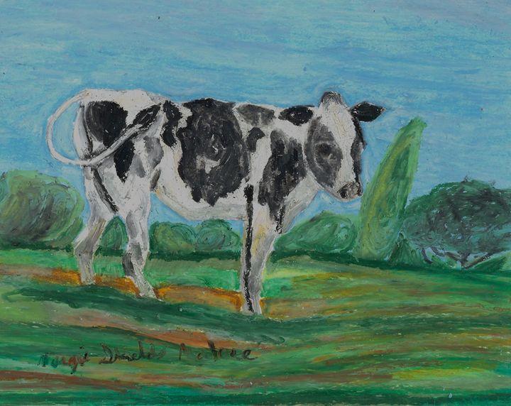 Dairy Cow - Margie Shields McKee