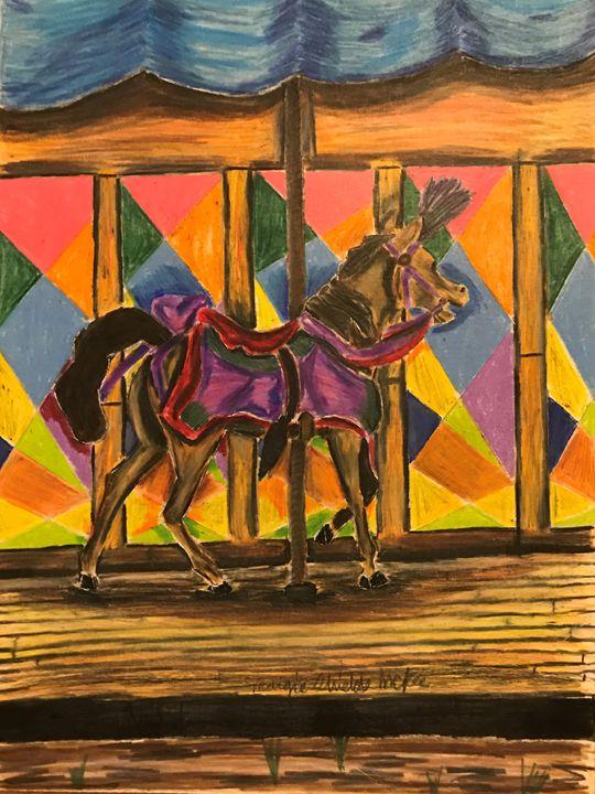 Bright Carousel - Margie Shields McKee