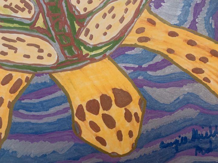 Sea turtle One - Margie Shields McKee