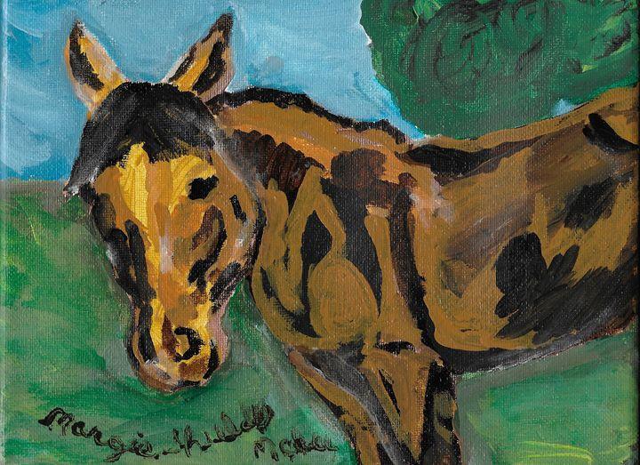 Buckskin Horse - Margie Shields McKee