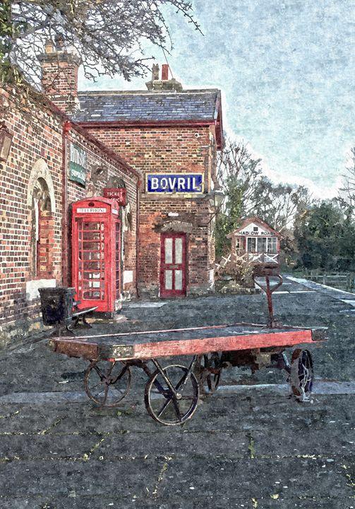 Hadlow Road in Oils - David Hughes
