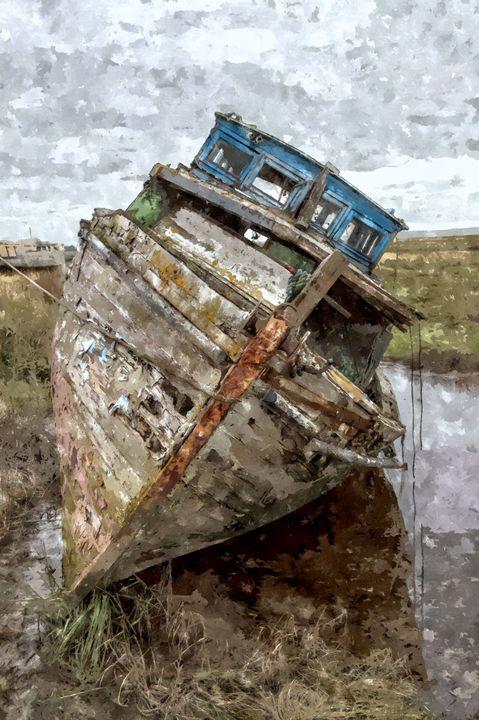 Journeys End in Oils - David Hughes