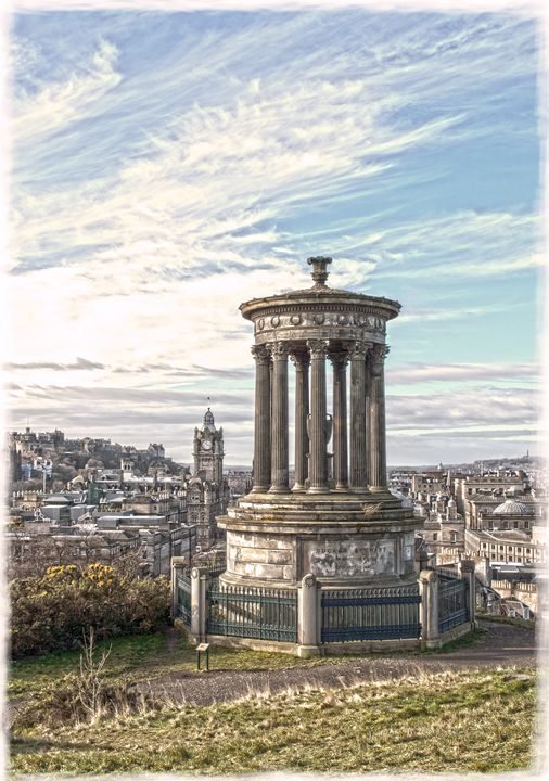 A Portrait of Edinburgh - David Hughes