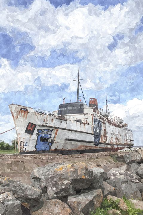 The Duke in Watercolours - David Hughes