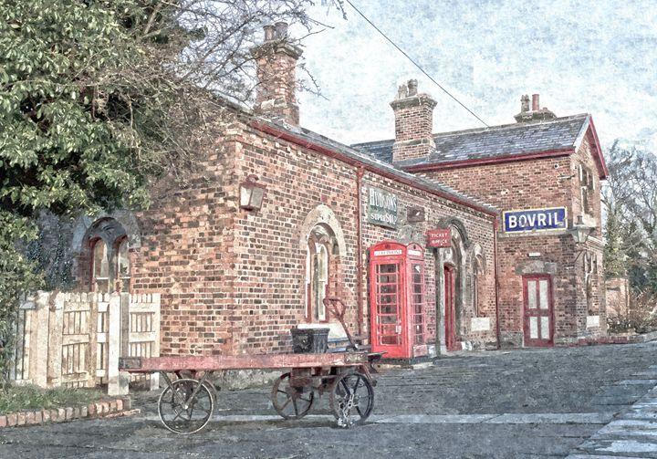 Hadlow Road in Oils 2 - David Hughes
