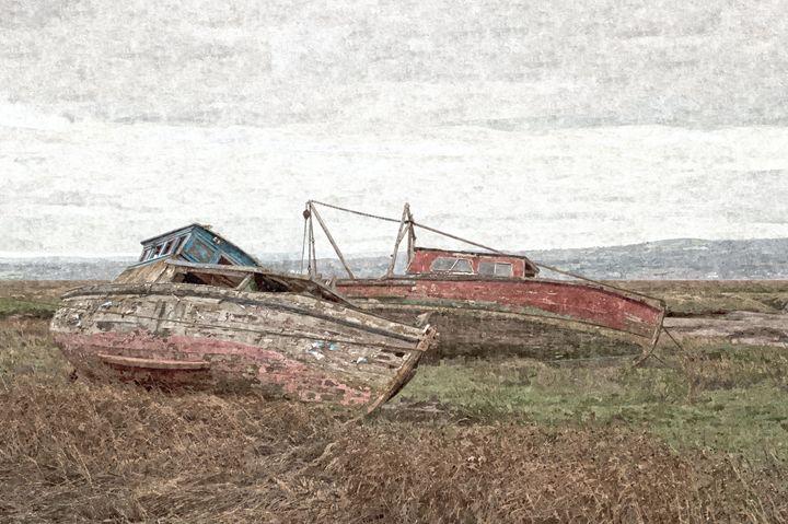 Old Boats in Oils - David Hughes