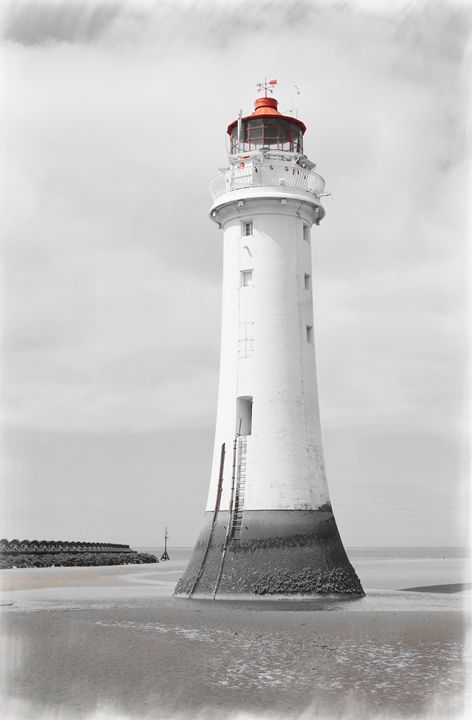 Perch Rock Isolation 2 - David Hughes
