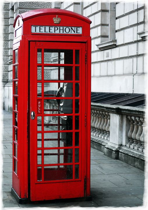 Whitehall Telephone Box - David Hughes