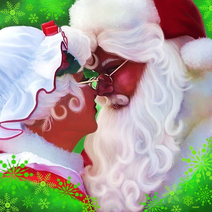 MR. & MRS. CLAUS Painting - Chadsart