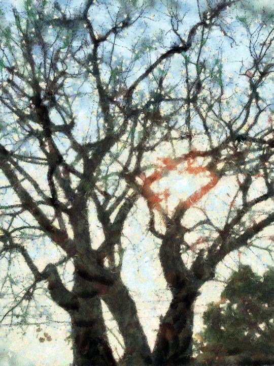 art of branch tree - poorbike'art
