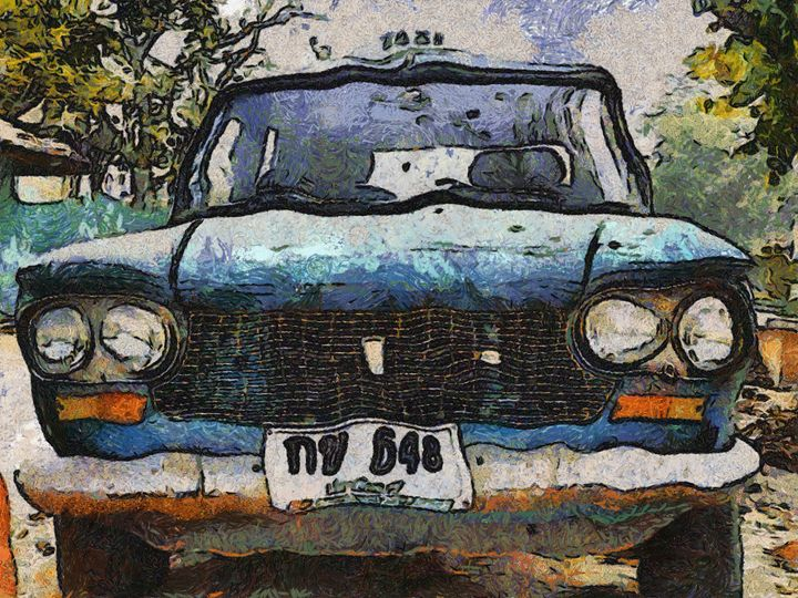 Old Car - poorbike'art