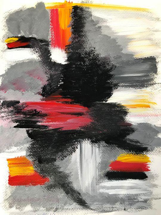 Original modem abstract art - 4A's