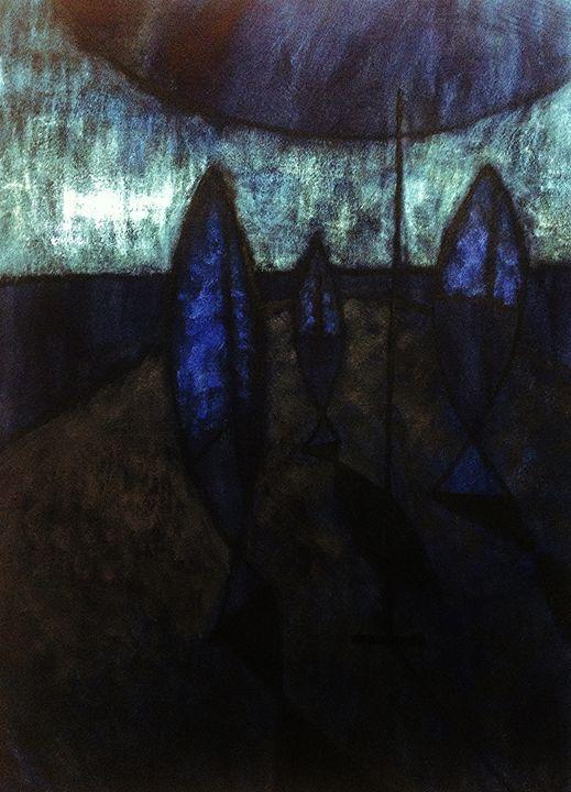 Figura e Specchi su Piattaforma - Andrea Rugarli