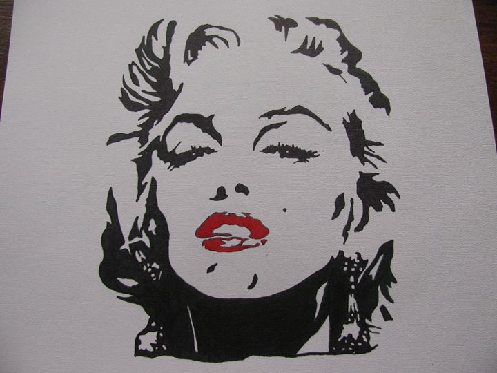 Faces of Marilyn - Jackie Woodcock