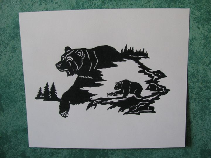 The Bear Within - Jackie Woodcock