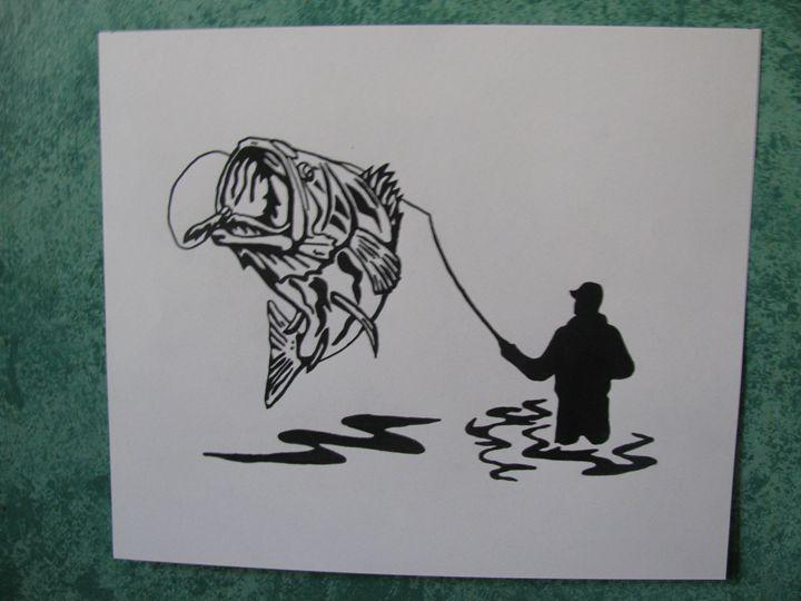Gone Fishing - Jackie Woodcock