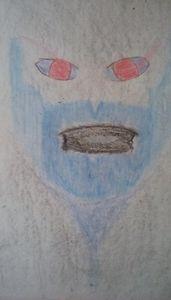 Evil in Blue