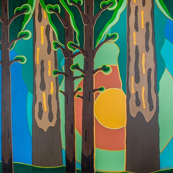 Tranquilitrees - TarAcrylics
