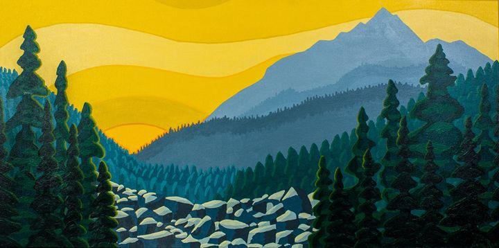 Yellow Sky - TarAcrylics