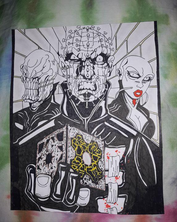 Hellraiser Trio - Night Watch Art