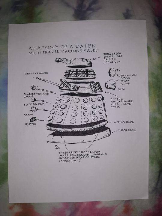 The Dalek - Night Watch Art