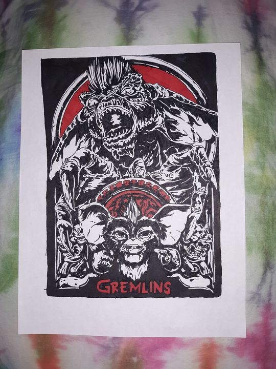Gremlins - Night Watch Art