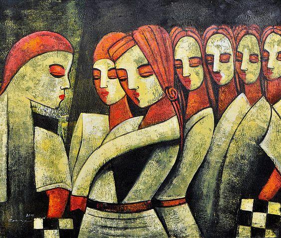 Rhythm of life - Spiritual Painting