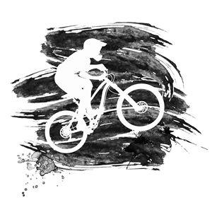 Silhouette of a biker - Dobrydnev