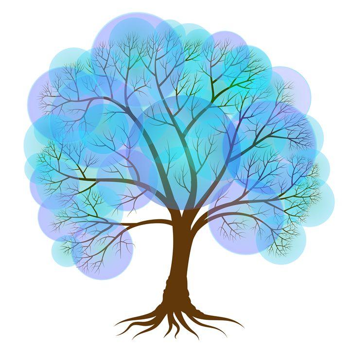 Abstract winter tree - Dobrydnev