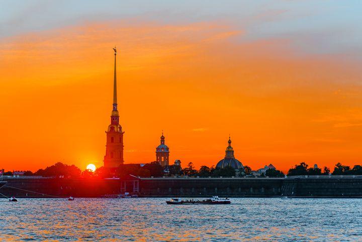 Orange sunset - Dobrydnev