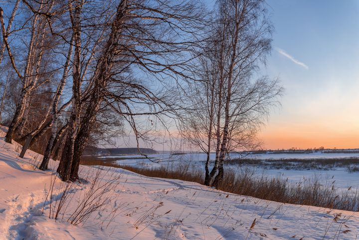 Winter evening - Dobrydnev