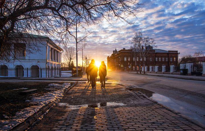 Towards the sun - Youth for a walk i - Dobrydnev