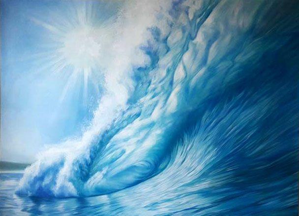 """Ocean wave"" - Art Pavlina Spasova"
