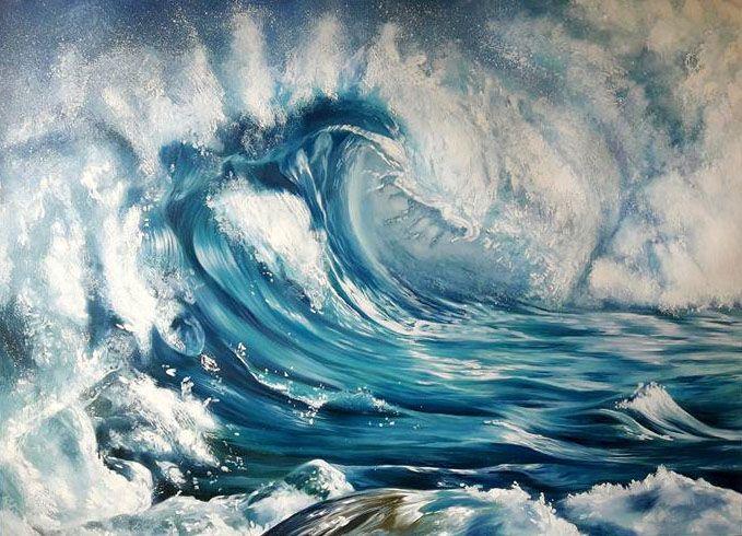 """Sea storm"" - Art Pavlina Spasova"