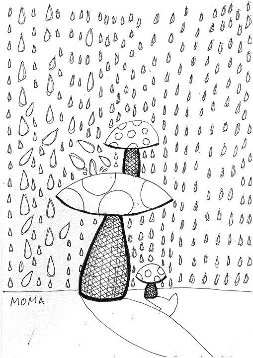 mushrooms - Moma Bjekovic