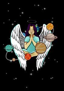 Universe angel.