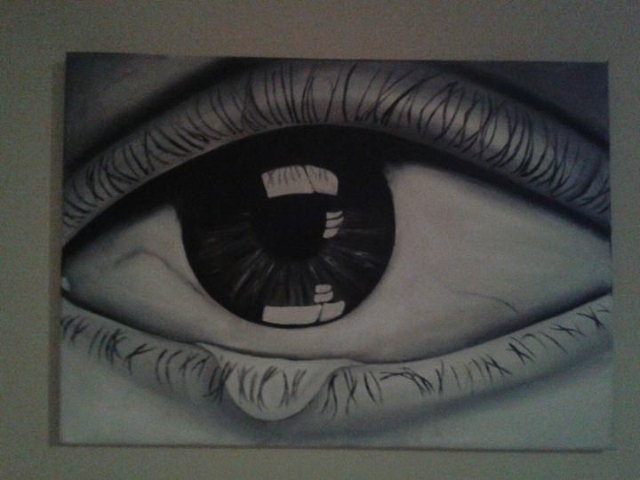 Teary Eye - Annemarie Prins