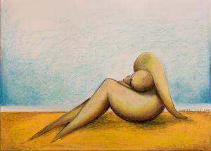 Pretty Girl - Rudy's Paintings