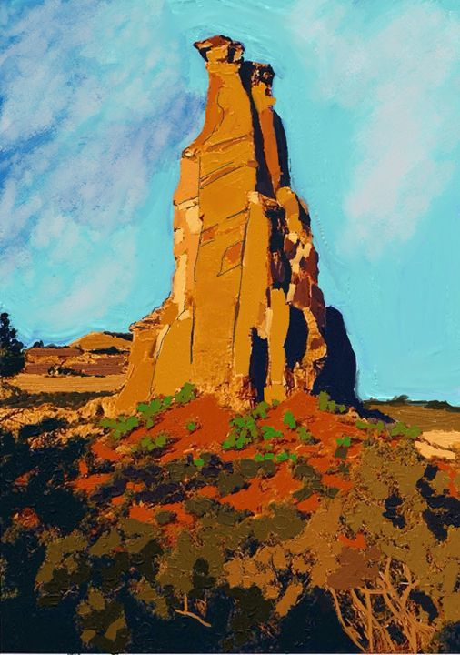 Independence Rock - Stetson Creek Gallery