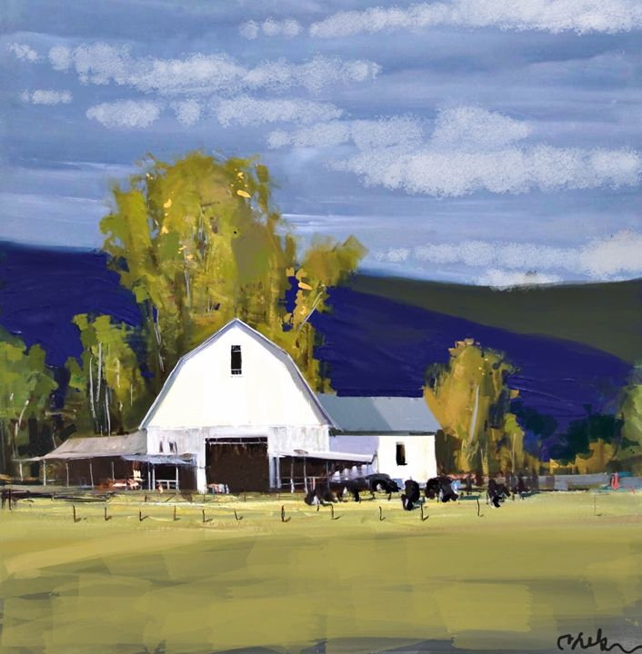 Another Nelson Barn - Stetson Creek Gallery