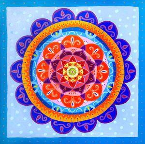 Bohemian Summer Mandala