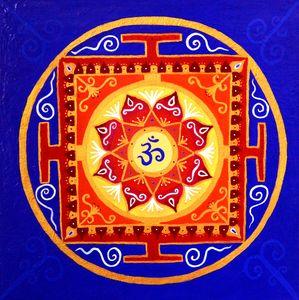 Tibetian Temple Mandala