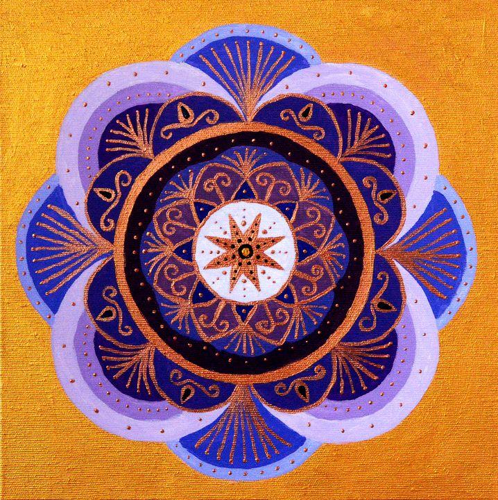 Song of The Harvest - Mandala Art