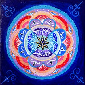 Rituals of February - Mandala Art