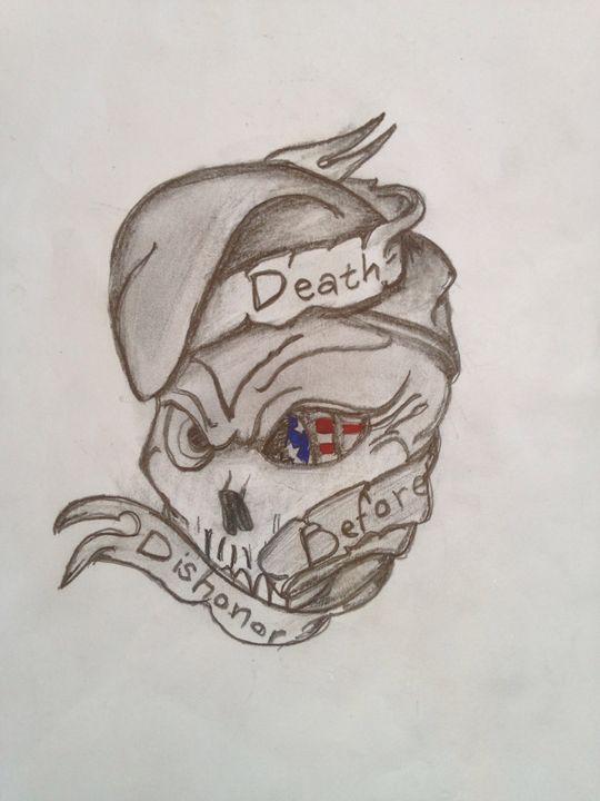 Death Defore Dishonor - Cassie Ingram