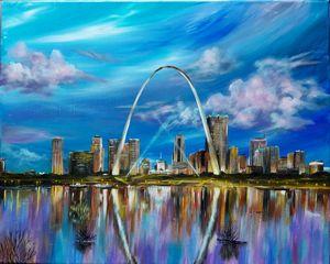 Saint Louis skyline