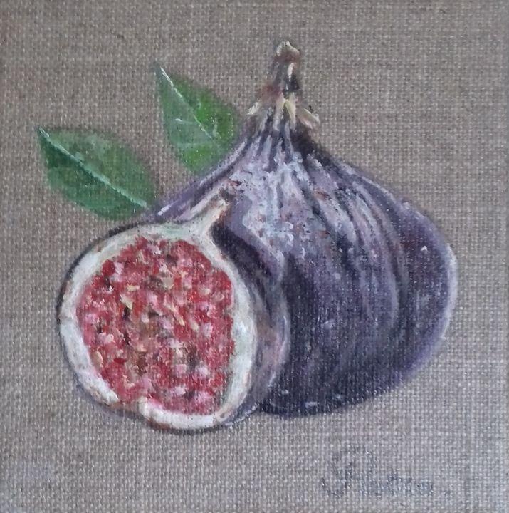 The figs - PATRICIA DE CHADOIS