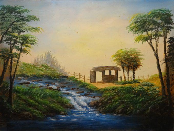 memory house - Khaled Kodsy - Paintings